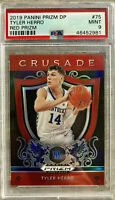 2019-20 Panini Tyler Herro Silver Prizm Red Rookie RC PSA 9 Mint Miami Heat🔥HOT
