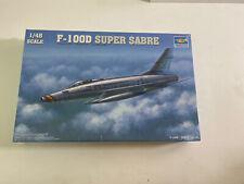 NEW FACTORY SEALED!! Trumpeter 02839 1/48 F-100D Super Sabre