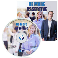 Be More Assertive Hypnosis CD Improve Your Self Confidence Path to Success