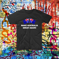 Make Australia Great Again Shirt Patriot Aussie Bogan Custom Tee