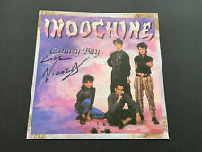 Vinyle Album Disque 45 tours Single Groupe Indochine (Nicola Sirkis collector)