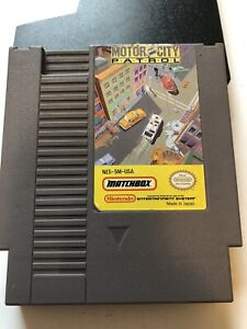 MotorCity Patrol for Nintendo NES Fast Shipping Authentic (tested)