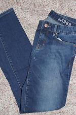 GAP Womens Misses denim MEDIUM WASH Always Skinny Jeans  6  28 R