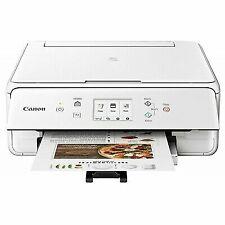 Canon Pixma TS6220 Wireless Inkjet All-In-One Photo Printer - White