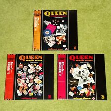 QUEEN The Magic Years Volume 1, 2 & 3 - RARE 1987 JAPAN 3 x LASERDISC SET + OBI