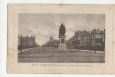 Hove Queen Victoria Statue & Grand Parade 1903 Postcard 477a