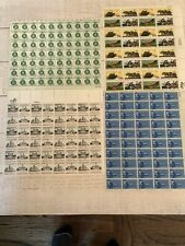 Vintage Monuments, Air Mail, Eagles and more Unused US Postage Stamps