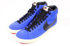 Nike Blazer Mid High Premium Suede Daim Bleu Blue Retro Vintage gr:44, 5