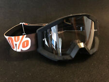 Motocross Brille 100% Strata Klar Motocross Enduro Downhill Orange
