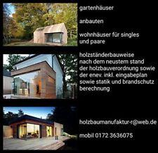 design gartenhäuser sowie wohnhäuser für paare und singles
