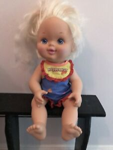 1997 McDonaldland Happy Meal Girl Doll - Good Used Condition