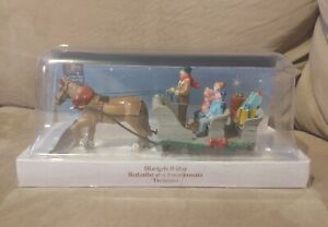 Sleigh Ride by LEMAX 2011 Model 13912 Carole Towne Collection