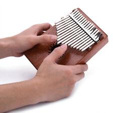 17 Keys Wooden Kalimba African Mahogany Thumb Piano Finger Percussion Music Gift