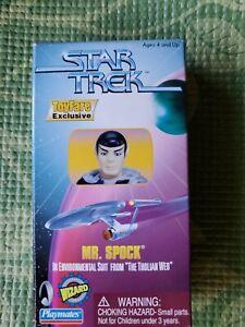 Star Trek Toyfare Exclusive~Wizard~Playmates  Mr. Spock Action Figure. NEW