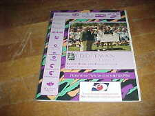 1995 The Eddleman Pro Tennis Classic Tennis Program Brook Highland Racquet Club