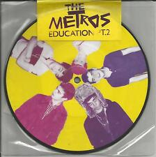 THE METROS Education w/ Every other LIVE PICTURE DISC UK 7 INCH Vinyl USA Seller