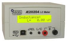 AE20204 LC-Messgerät Komplett-Bausatz mit RS232/USB, Gehäuse RCL RLC LCR CRL LRC