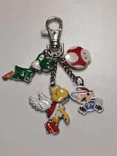 Mario charm metal mushroom charm Keyring turtle charms bag charm
