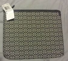 NWT Coach Mini Signature Ipad Tablet Sleeve 61992E *LOW PRICE* FREE SHIPPING