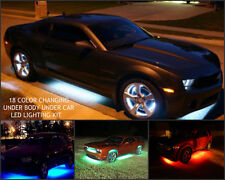 18 Color 5050 SMD RGB Dodge Challenger 18pc Under Car Under Body Led Glow Kit