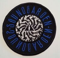 """Soundgarden Embroidered Applique Patch~3"""" Round~Iron~Sew~Ships FREE"""