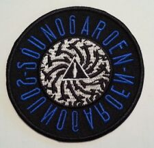 "Soundgarden Embroidered Applique Patch~3"" Round~Iron~Sew~Ships Free"