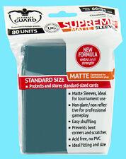 80 ULTIMATE GUARD SUPREME MATTE PETROL Standard Card Sleeves MTG Deck Protector