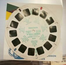 Sawyer's Single view-master Reel Dr-22 Travelogues of North America Green ink