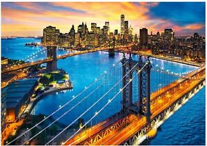 Clementoni - New York - 3000 Piece Jigsaw Puzzle