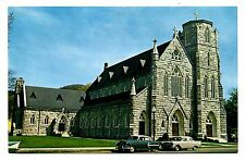 Great Barrington Massachusetts Postcard St Peters Catholic Church Berkshires