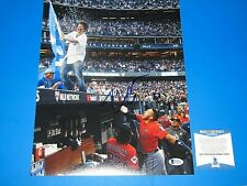 KEN JEONG HANGOVER SIGNED 11X14 PHOTO beckett certified los angeles dodgers