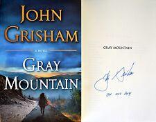 John Grisham SIGNED & DATED Gray Mountain TRUE 1st/1st HC NEW