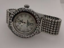 BREITLING SUPEROCEAN ALL DIAMOND BAND WATCH