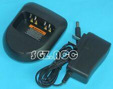 110V~240V Battery Charger for Motorola A8 MagOne BPR40 Two-Way Radio