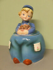VHTF/Rare Vintage Lefton Dutch Boy Cookie Jar (ESD/Japan/#MR22072)