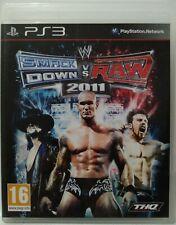 SmackDown vs Raw 2011. Ps3. Fisico. Pal España