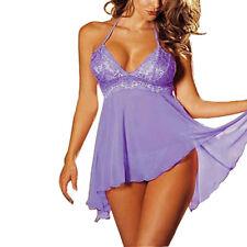 1 Set Women's Lingerie Lace Dress Underwear Temptation Plus Size Sexy Sleepwear