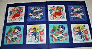 Forever Magic Unicorn Fabric Panel & Yardage Helen Dardik Clothworks Choice