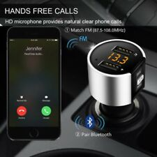 Wireless USB Car Bluetooth FM Transmitter Radio Adapter Charger With MP3 Player