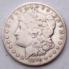 1879-CC CARSON CITY MORGAN SILVER DOLLAR VERY RARE COIN! WOW! #SK770