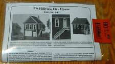 American Model Builders, Inc HO #147 The Hillview Fire House (Buidling Kit)