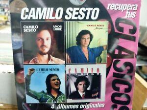 NEW-Camilo Sesto Recupera Tus Clasicos 4CDS New Sealed