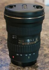 Tokina AT-X 14-20mm F2 Pro DX SD Aspherical Lens for Canon EF-S + Accessories