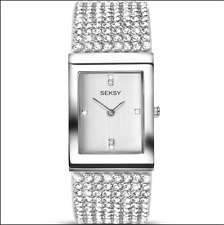 SEKSY LADIES KRYSTAL BRACELET WATCH MODEL NUMBER 2375 RRP £99.99