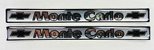 Vintage 80's 90's Automotive Door Handle Insert Accent Trim MONTE CARLO