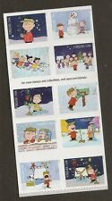 US 5030a Holiday A Charlie Brown Christmas forever block set 10 stamps MNH 2015