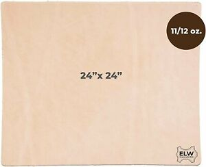 """Import Tooling Craft Leather Thick Heavy Weight 11/12 oz   Pre-Cut 24""""x24""""  ..."""
