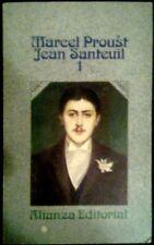JEAN SANTEUIL- 1 y 2 - Marcel Proust - 2 x SPAIN LIBRO Alianza 1971 - 1ª Edicion