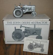 John Deere 60 Pewter Tractor 1/43 Spec Cast Toy JDM-003  1990's Two Cylinder jd