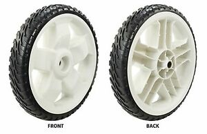 One Toro Lawn Mower Replacement Plastic Wheel 11 in. Dia. 119-0313P